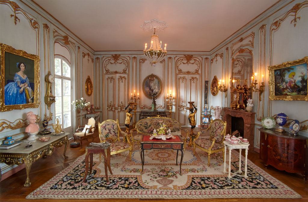 Bay hippisley photographs superb 1 12th scale miniatures to be exhibited at newby hall - Newby house interiors ...